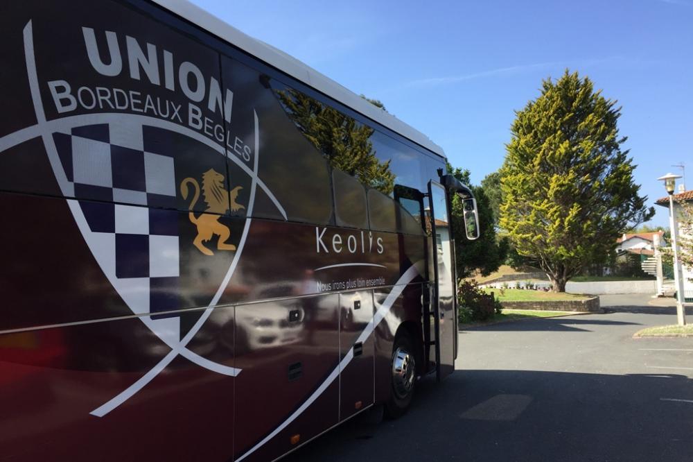 Union Bordeaux Bègles Rugby en stage de cohésion au Domaine du Pignada