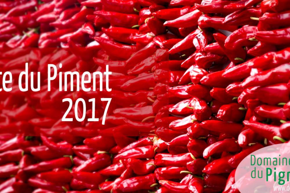 La Fête du Piment 2017  du 28 au 29 Octobre à Espelette