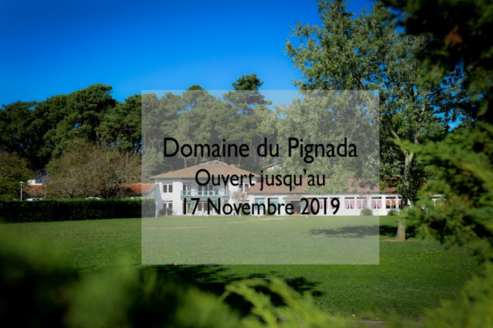 Prolongation pour le Domaine du Pignada