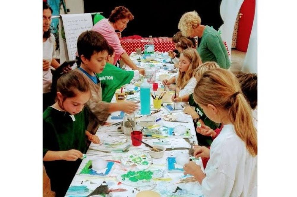 Séjour scolaire : Créativité et Imagination