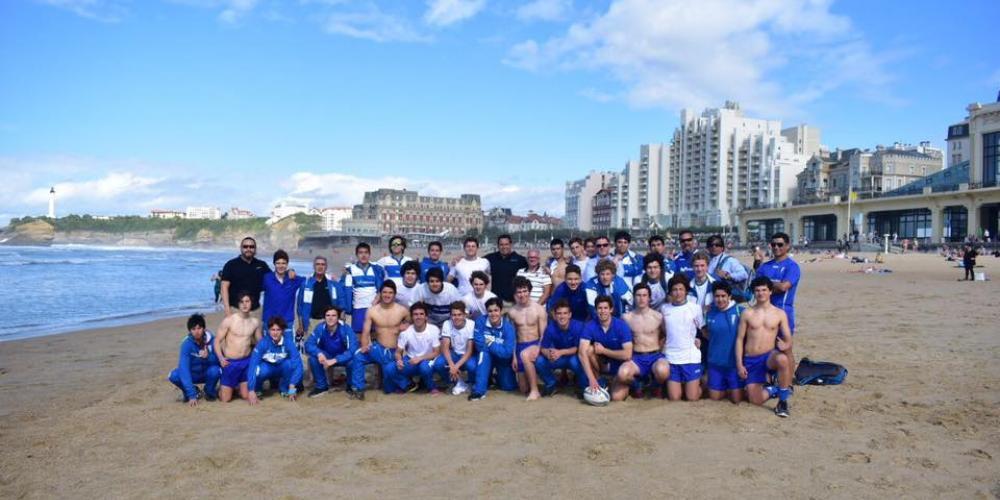 Le Rugby Club La Catolica (Chili) en tournée européenne fait un stop au Pays Basque