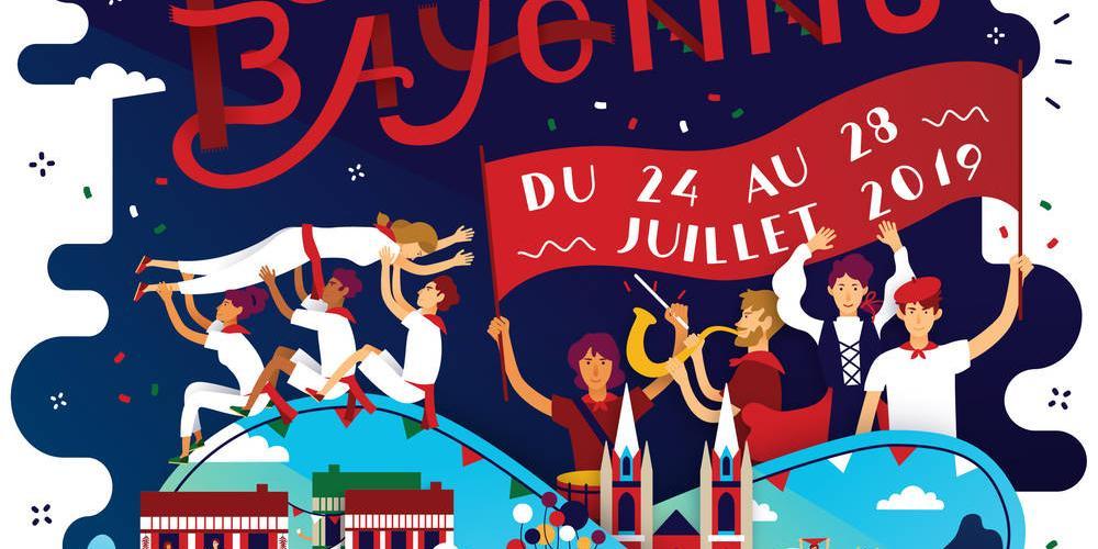 Fêtes de Bayonne du 24 au 28 juillet 2019