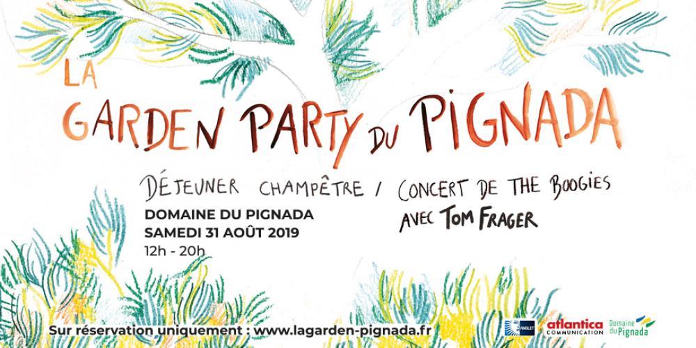 Rendez-vous le 31 Août pour La Garden Party du Pignada