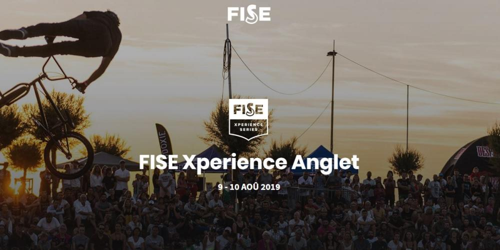 FISE Xperience ANGLET SkateBoard BMX