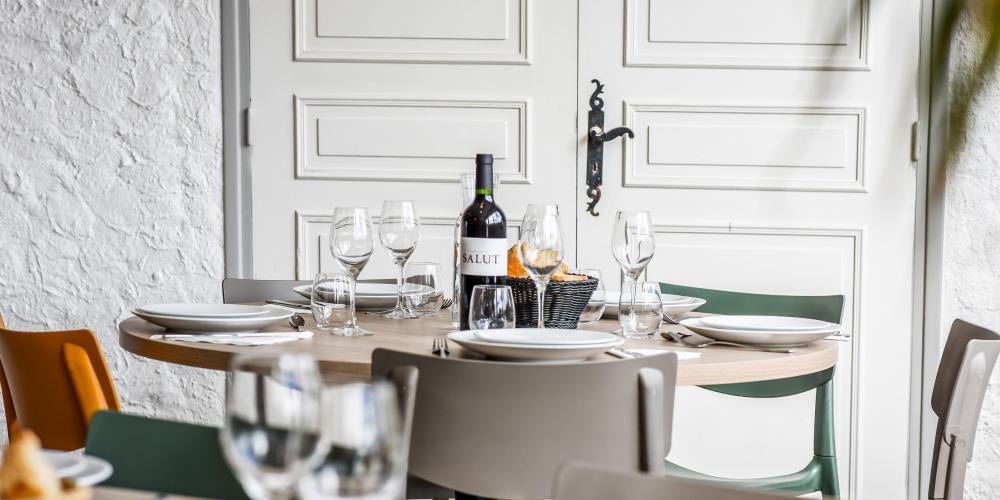 Salle repas entreprise au Pays basque Anglet