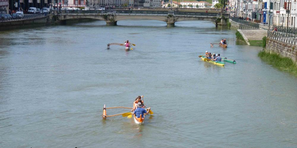 Pirogue Hawaienne Pays Basque Bayonne