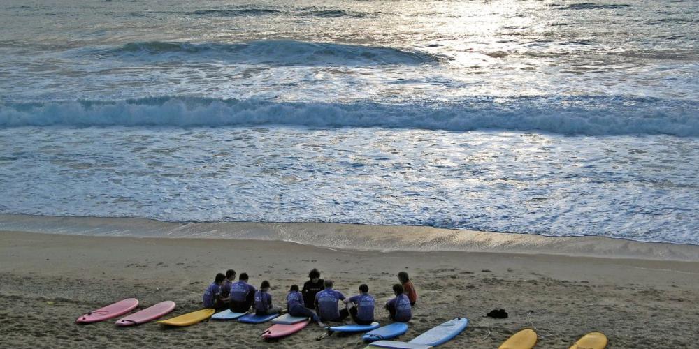 Surf & Pirogue Hawaienne