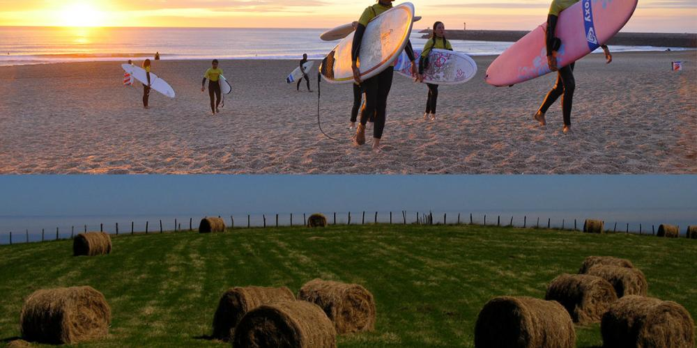 Randonnée et Surf au Pays Basque