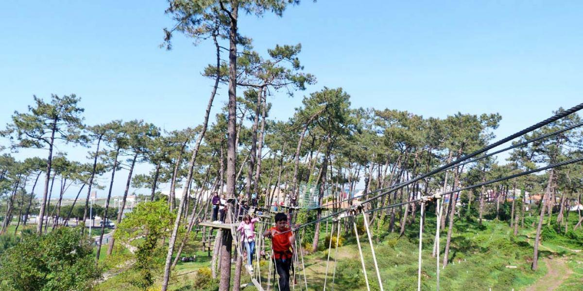 Accrobranche forêt du Pignada