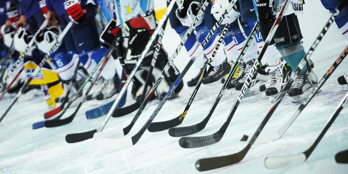 Stage sportif hockey sur glace