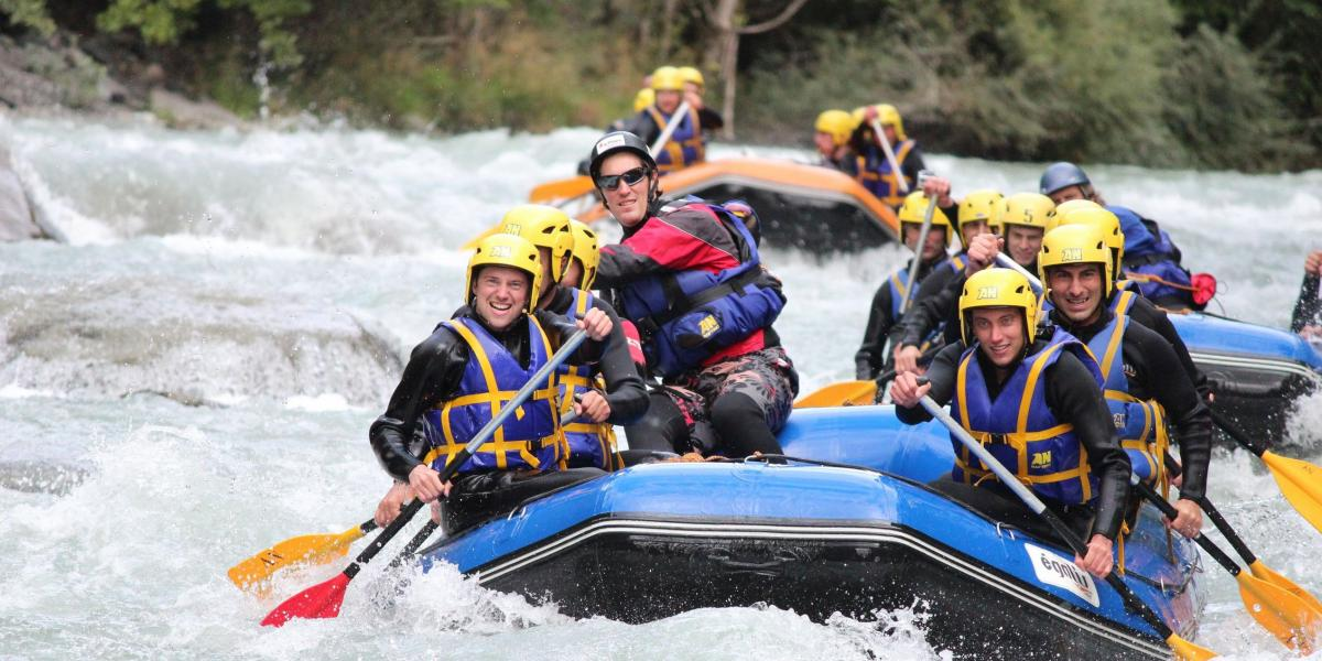 Team Building Incentive Rafting au Pays Basque